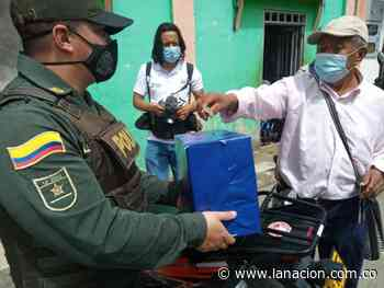 Patrullero de Isnos, nominado a mejor policía de Colombia • La Nación - La Nación.com.co