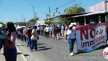 El presidente municipal de Pijijiapan se revela a Morena - Diario de Chiapas