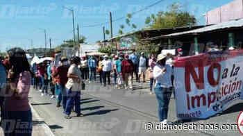 Marchan morenistas en Mapastepec y Pijijiapan Los militantes y simpatizantes están inconformes por el proceso interno - Diario de Chiapas