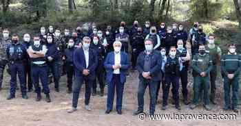 Simiane-Collongue : opération de prévention contre les engins motorisés en pleine nature - La Provence