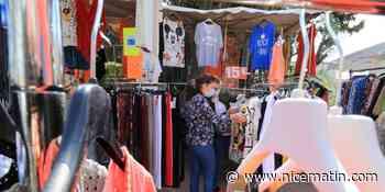 Des vendeurs de textile autorisés sur le marché de Villeneuve-Loubet malgré un interdit? - Nice-Matin