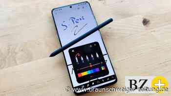 Technik: S-Pen: Der Eingabestift fürs Samsung S21 Ultra im Praxistest