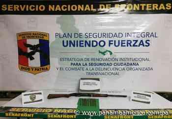 Detienen a dos personas en Bugaba por portar arma de fuego sin permiso - Panamá América