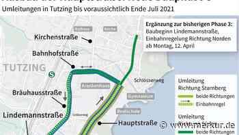 Projekt Hauptstraße in Tutzing: Nur eine Richtung auf der Lindemannstraße - Merkur.de
