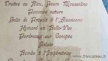 Les menus de communion avec Sylvie Grucker du Pressoir de Bacchus - Die Kommunionessen mit Sylvie Grucker - France Bleu