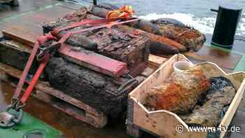 Alt-Munition in der Nordsee: Forschende untersuchen Kriegsschiffswrack