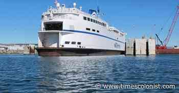 Ferry cancellations starting Tuesday between Nanaimo and Tsawwassen - Times Colonist