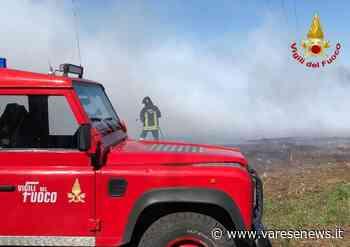 Da Leggiuno a Olgiate Olona, Vigili del Fuoco impegnati tra incendi e coperture pericolanti - varesenews.it