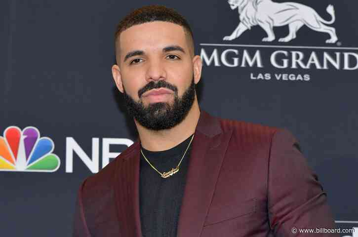 Drake Shares Cute Video of Son Adonis Shooting Hoops