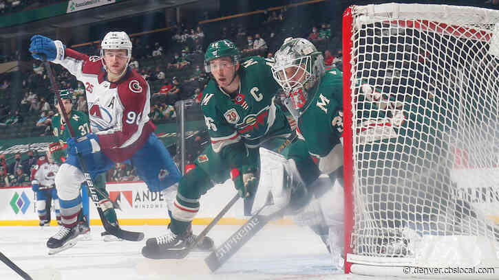 Colorado Avalanche Close To Franchise Record As They Extend Point Streak To 15 Games, Beat Wild Again