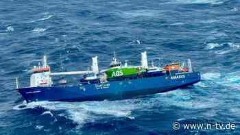 Tonnen von Öl und Diesel an Bord: Verlassener Frachter treibt vor Norwegen