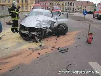 Stendal: Fahrer (21) verursacht Unfall unter Drogen - Volksstimme
