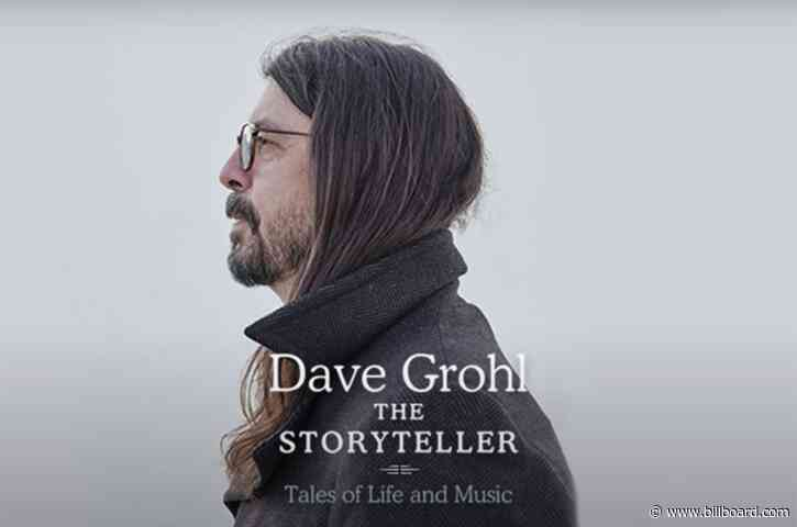 Dave Grohl Will Reflect on Rock N' Roll Life in 'The Storyteller' Memoir