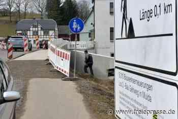 Straßenbau in Mulda geht weiter - Freie Presse