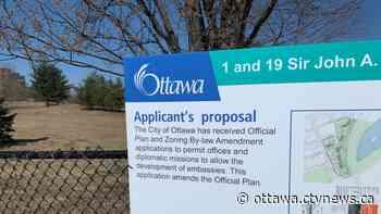 Mechanicsville residents oppose planned 'Embassy Row' west of downtown Ottawa - CTV News Ottawa
