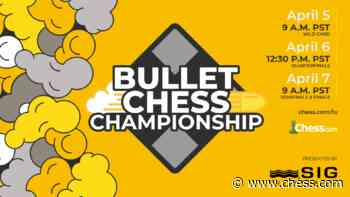 2021 Bullet Chess Championship Presented By SIG: Erigaisi, Artemiev, Hansen, Nihal Through - Chess.com