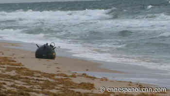 Encuentran posible explosivo militar en una playa de Florida - CNN
