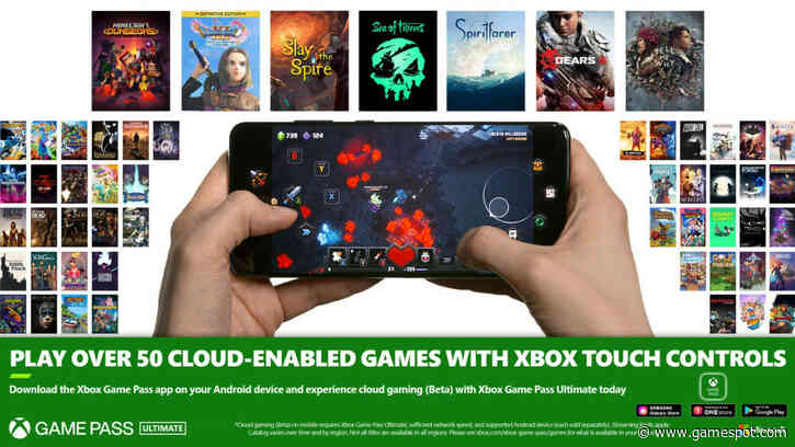 Xbox Game Pass Cloud Streaming Introduces Touch Controls For 50+ Games, See The Full List
