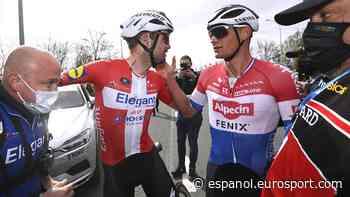 "Tour de Flandes 2021 | Van der Poel, caballeroso en la derrota: ""Asgreen fue el más fuerte"" - Eurosport ESCOM"