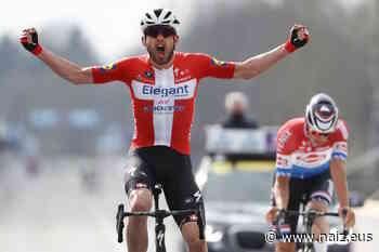Kasper Asgreen gana el Tour de Flandes tras batir a Van der Poel en el mano a mano final - NAIZ