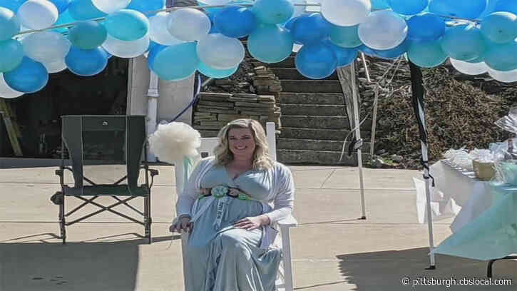 Baby Shower Held For Mother-To-Be And Frontline Worker