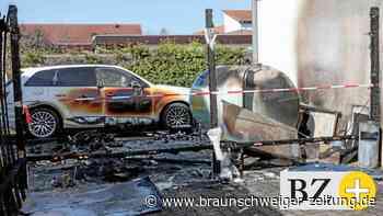 Neue Gerüchte um Ursache für Gastank-Brand in Fallersleben