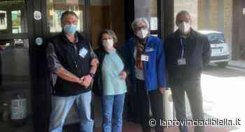 A Ponzone i volontari collaborano alla vaccinazione degli over 80 - La Provincia di Biella