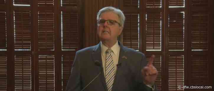 """""""People Have Lost Faith In Their Elections,' Texas Lieutenant Governor Dan Patrick On Why SB7 Is Needed"""