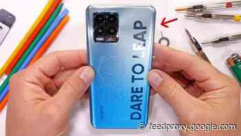 How durable is the Realme 8 Pro? (Video)