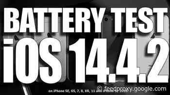 How does iOS 14.4.2 perform with battery life (Video)