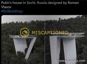Is This Putin's House in Sochi, Russia? - Snopes.com