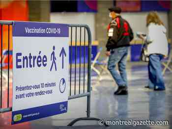 5,000 vaccination appointments went unused during Easter weekend in Quebec
