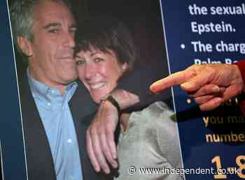 Ghislaine Maxwell demands in-person hearing after QAnon hijack livestream