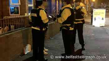 Police issue over 100 Covid notices and arrest three after Holyland parties