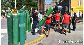 Recargan 100 balones de oxígeno para la provincia de Ascope - Diario Correo