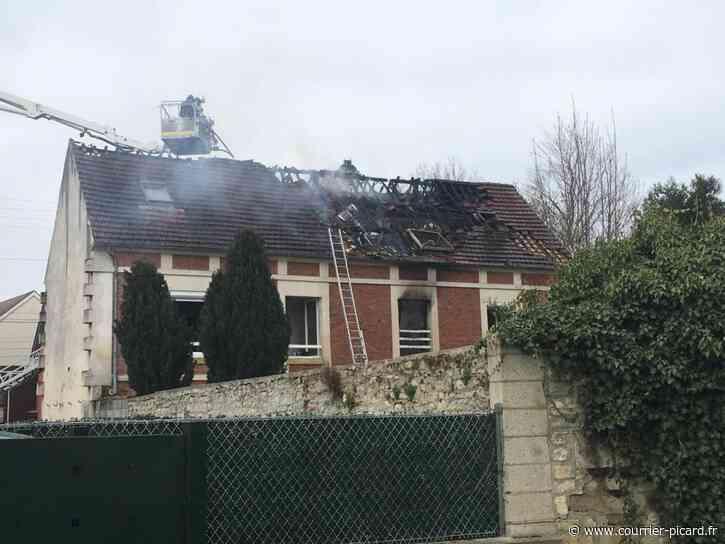 Sept personnes de Mouy relogées après un incendie dimanche matin - Courrier Picard
