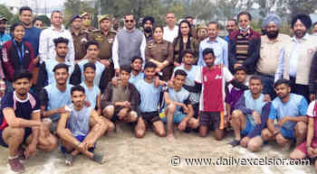 Kho-Kho tournament concludes at GDC Udhampur - Daily Excelsior