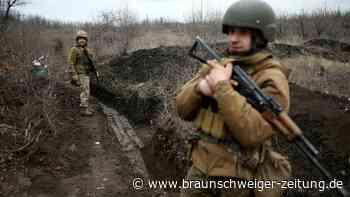 """Ukraine-Konflikt: """"Wir werden uns nicht zurückziehen"""""""