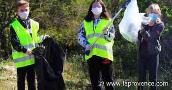 Saint-Chamas : dix mètres cubes de déchets ont été ramassés - La Provence