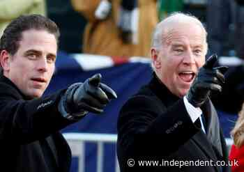 Hunter Biden - live: President's son joined Burisma as 'f**k you' to Putin and took toad venom to sober up