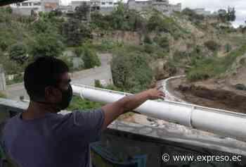 La crecida del Río Monjas, en Quito, provoca inspecciones en los puentes - expreso.ec