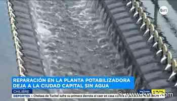 Realizan labores de mantenimiento en planta potabilizadora Federico Guardia de Chilibre - TVN Panamá
