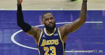 NBA: LeBron James und Kevin Durant Kapitäne des All-Star-Teams - SPORT1