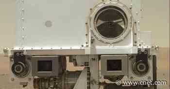 NASA Mars Perseverance rover snaps charming 'face' selfie     - CNET