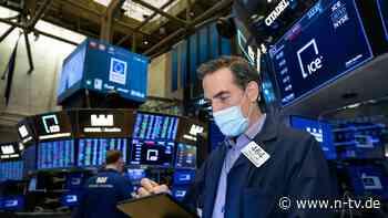 Nur leichtes Minus bei Dow & Co.: Wall Street kann Rekordniveau nicht halten