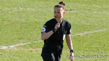 Rebecca Welch becomes first female referee in English Football League match