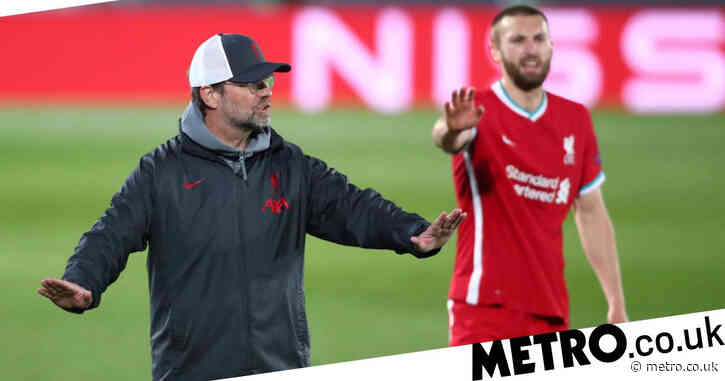 Liverpool left with mountain to climb after error-ridden defeat to Real Madrid