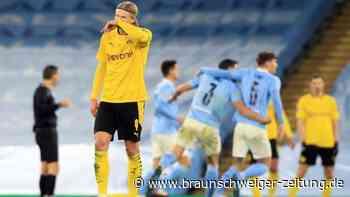 Champions League: BVB verpasst Coup in Manchester: 1:2 nach achtbarem Kampf