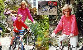 Princess Diana's bicycle for sale