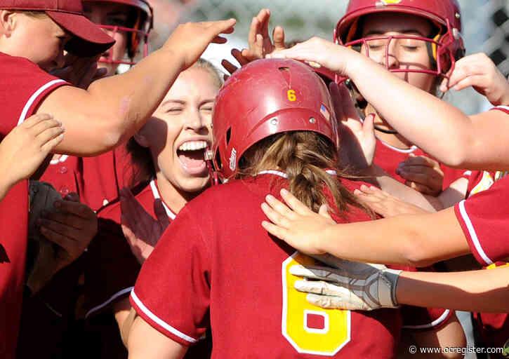 Orange County softball top 20 rankings, April 6